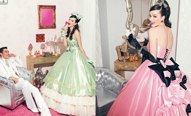 Colored Barbie Bridal Collection