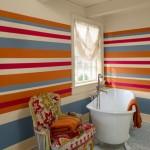 Bathroom Decorating Ideas with Beautiful Wall Arts_11