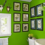 Bathroom Decorating Ideas with Beautiful Wall Arts_16