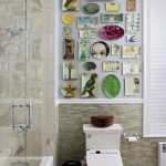 Bathroom Decorating Ideas with Beautiful Wall Arts_17