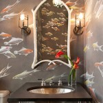 Bathroom Decorating Ideas with Beautiful Wall Arts_19