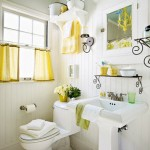 Bathroom Decorating Ideas with Beautiful Wall Arts_23