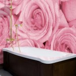Bathroom Decorating Ideas with Beautiful Wall Arts_26