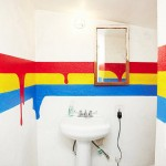 Bathroom Decorating Ideas with Beautiful Wall Arts_7