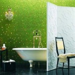 Bathroom Decorating Ideas with Beautiful Wall Arts_9