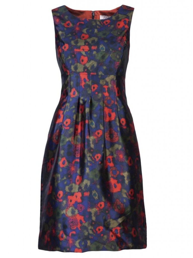 Floral Print Mini Prom Dresses by LELA ROSE