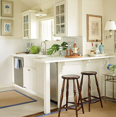 small bright kitchen ideas - Remodeling Ideas For Small Kitchens