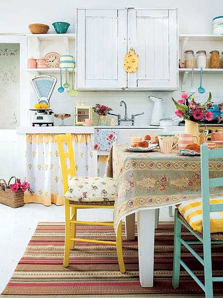 Bright Small Kitchen Remodel Ideas_9 at In Seven Colors – Colorful on bright room color ideas, blue and yellow kitchen ideas, bright country kitchen design ideas,