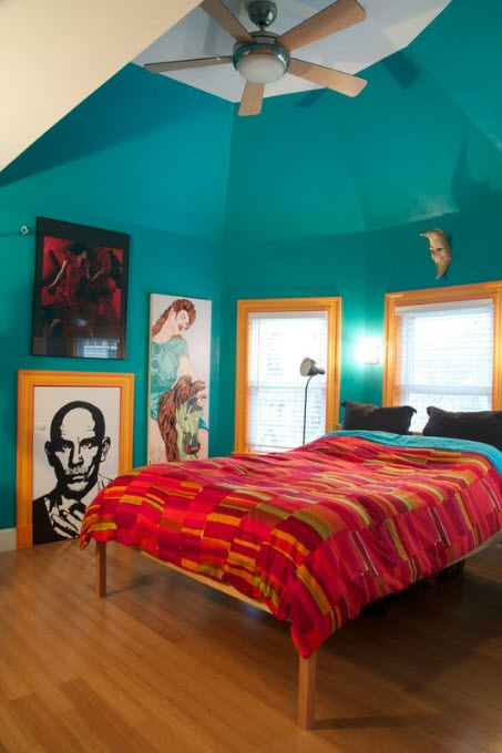 Fun Paint Colors For Small Rooms 16
