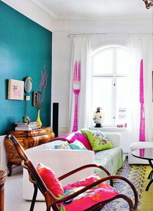 Fun Paint Colors for Small Rooms_18