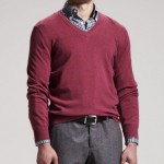 Brunello Cucinelli Raspberry Two-Ply Cashmere Sweater