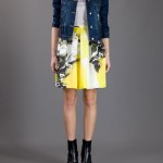 CHRISTOPHER KANE printed Pleated Skirt