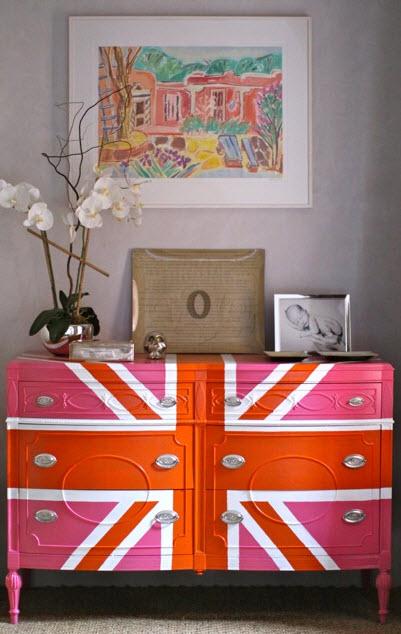 Colorful Vintage Dresser_1