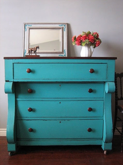 Colorful Vintage Dresser_3