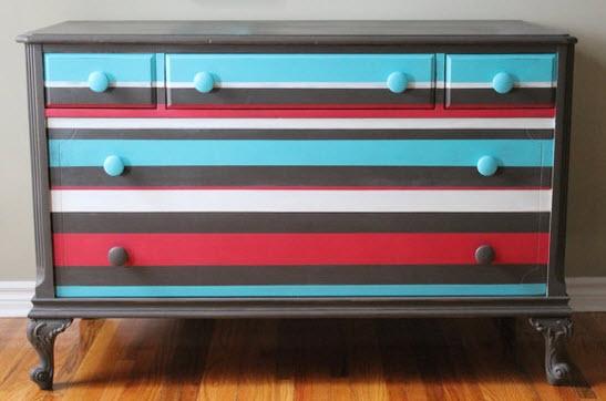 Colorful Vintage Dresser_5