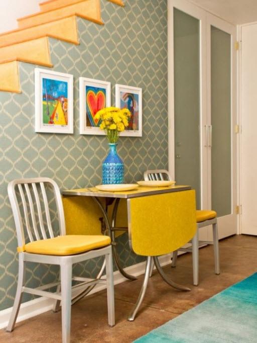 Colorful Vintage Furnitures