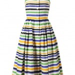 DOLCE & GABBANA Striped Sun Dress