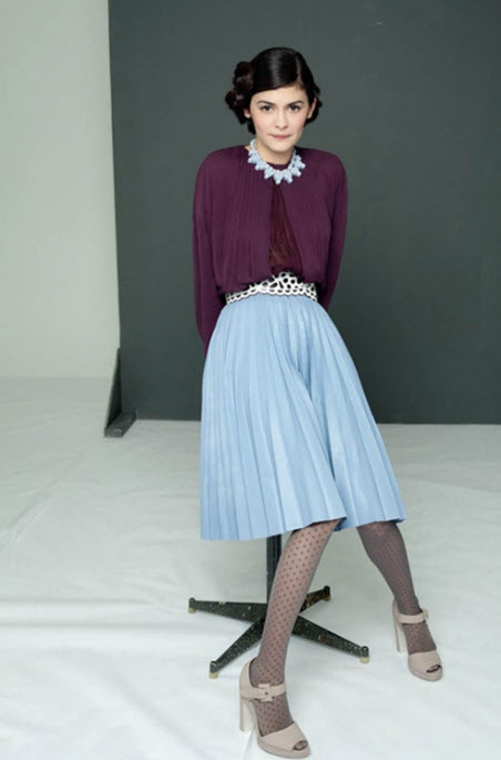 How to Wear Pleated Skirt_1
