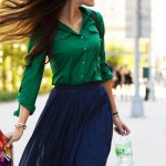 How to Wear Pleated Skirt_10