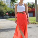 How to Wear Pleated Skirt_12