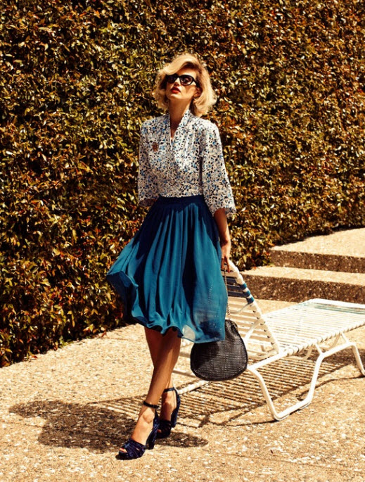 How to Wear Pleated Skirt_3