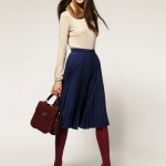 How to Wear Pleated Skirt_4