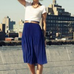 How to Wear Pleated Skirt_6