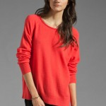 Joie Jaydee Cherry Cashmere Sweater