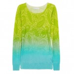 Jonathan Saunders Lilium Printed Silk and Cashmere-blend Sweater