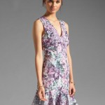 Keepsake Kiss the Sun Dress in Crystal Print