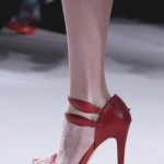 Red Designer Bridal Shoes, Elie Saab