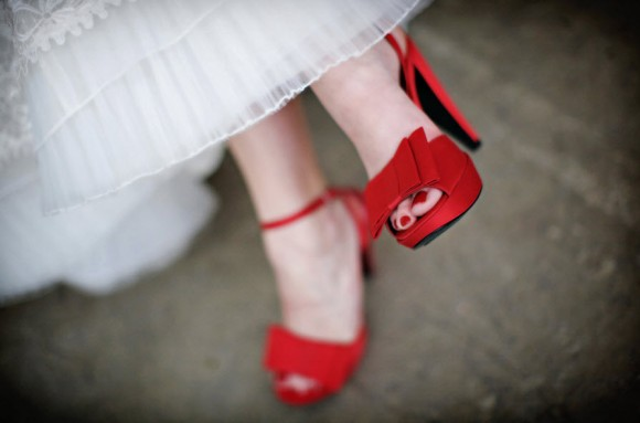 Red Designer Bridal Shoes_3