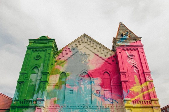 Church Colorful Visual Art Makeover by HENSE_1