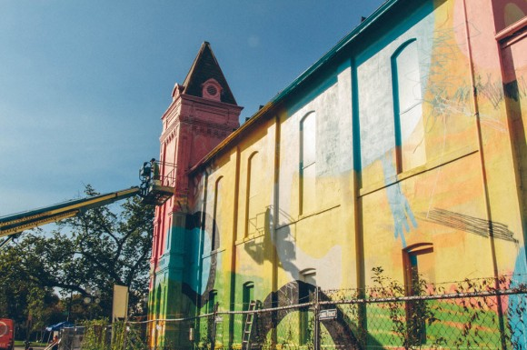 Church Colorful Visual Art Makeover by HENSE_11