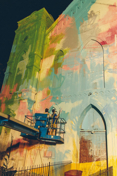 Church Colorful Visual Art Makeover by HENSE_2