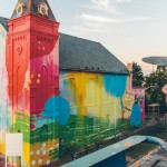 Church Colorful Visual Art Makeover by HENSE