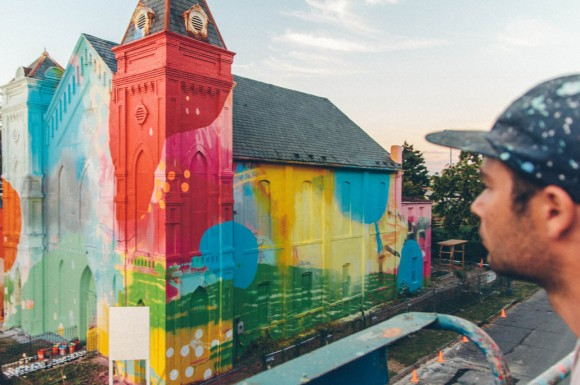 Church Colorful Visual Art Makeover by HENSE_4