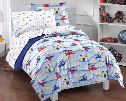 Colorful Bed Comforter Sets Full for Boy