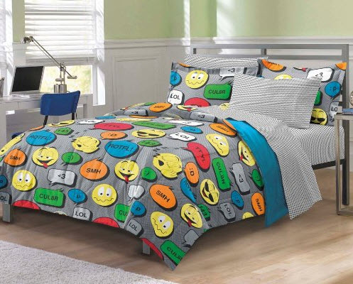 Colorful Bed Comforter Sets Full for Boy_1