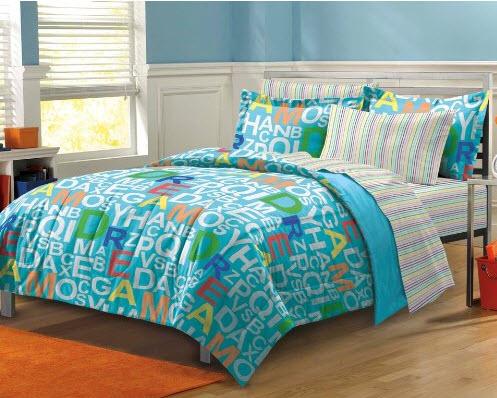 Colorful Bed Comforter Sets Full for Boy_3