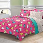 Colorful Bed Comforter Sets Full for Girl