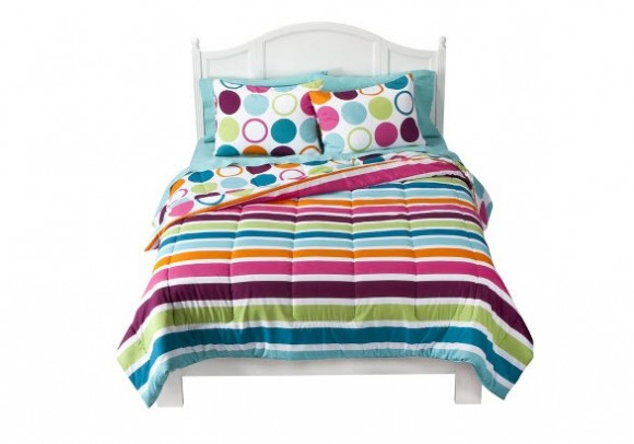 Colorful Bed Comforter Sets Full from Target_5