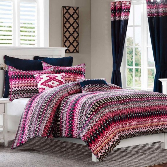 Colorful Bed Comforter Sets Full_3
