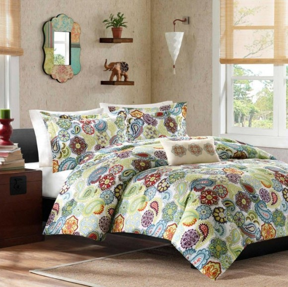 Colorful Bed Comforter Sets Full_6