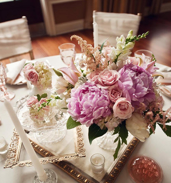 Colorful Floral Wedding Centerpieces to Complete your Wedding