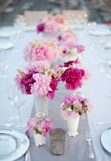 Colorful Floral Wedding Centerpieces to Complete your Wedding Decoration_11