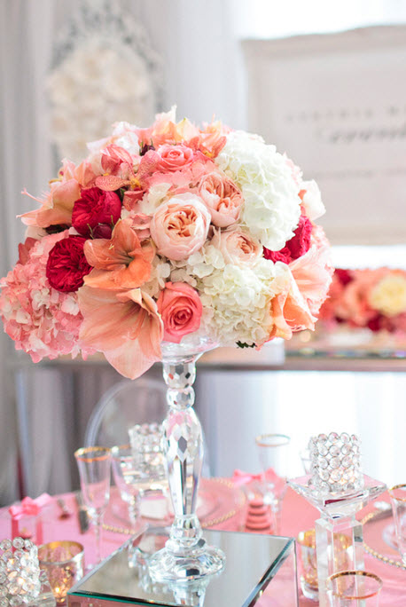 Colorful Floral Wedding Centerpieces to Complete your Wedding Decoration_12