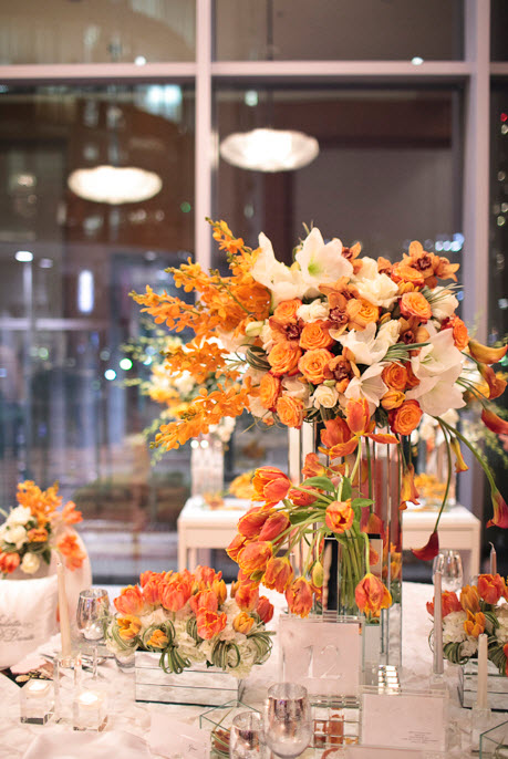 Colorful Floral Wedding Centerpieces to Complete your Wedding Decoration_13