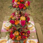 Colorful Floral Wedding Centerpieces to Complete your Wedding Decoration_14