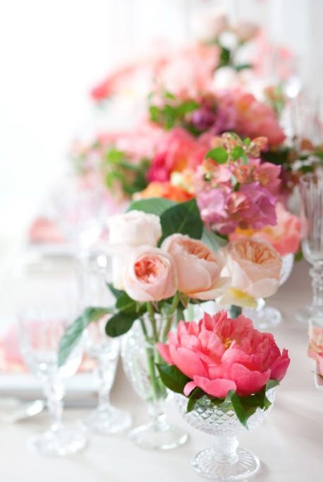 Colorful Floral Wedding Centerpieces to Complete your Wedding Decoration_15